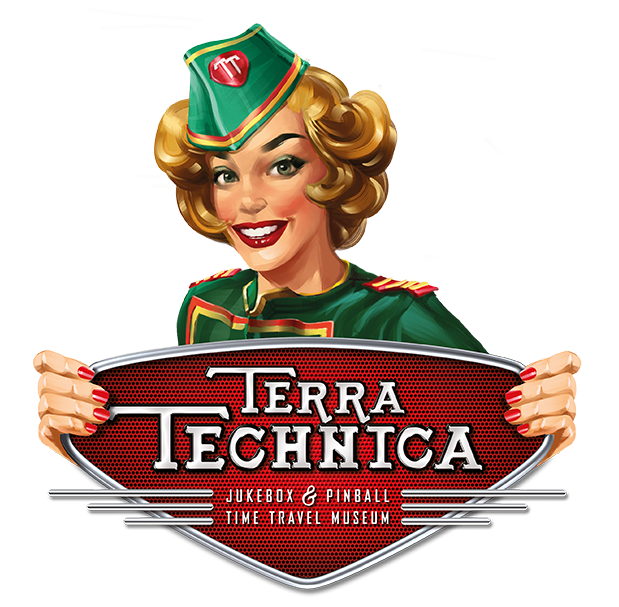 Jukebox & Pinball Time Travelling Museum | Terra Technica Excalibur City
